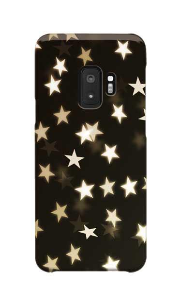 Galaxy S9のケース、きらめきスター【スマホケース】