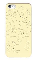 iPhone5c対応のハードケース・ツヤ有り、星の教科書