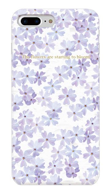 iPhone8 Plusのケース、オトメ桜・フラワー【スマホケース】