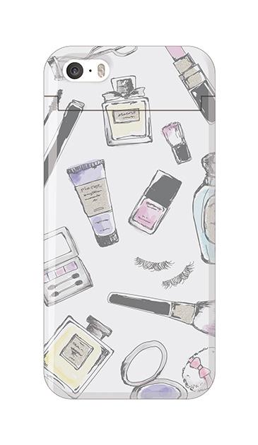 iPhoneSEのミラー付きケース、コスメHOLiC 【スマホケース】