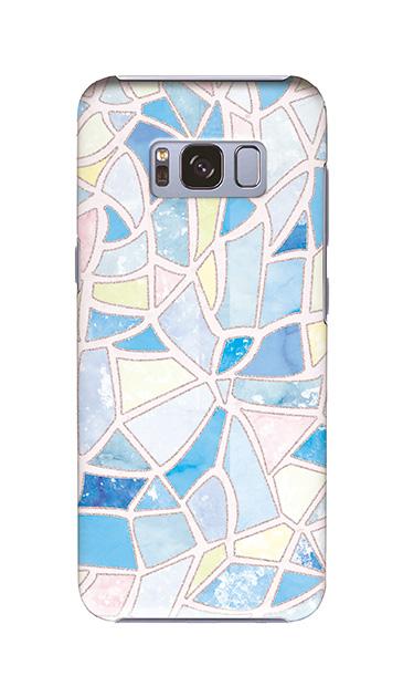 Galaxy S8のケース、やさしいステンドグラス【スマホケース】