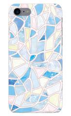 iPhone7対応のハードケース・ツヤ有り、やさしいステンドグラス【スマホケース】