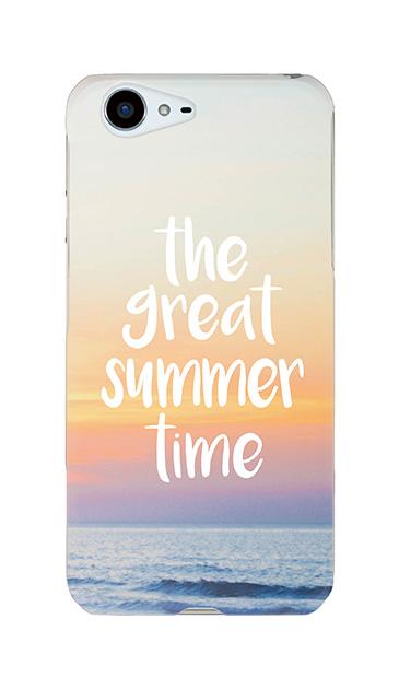 AQUOS ZETAのケース、「the great summre time」【スマホケース】