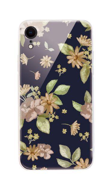 iPhoneXRのケース、dryフラワー【スマホケース】