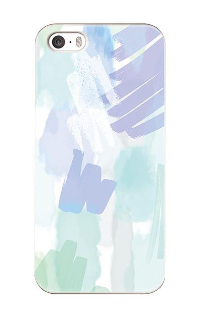 iPhoneSEのハードケース、ラフマジックパレット【スマホケース】