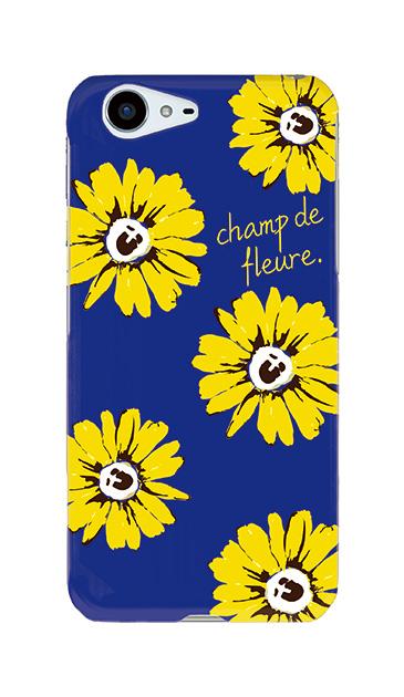 AQUOS ZETAのケース、champ de fleure ガーベラ・フラワー【スマホケース】