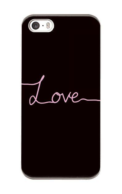 iPhoneSEのケース、「Love(愛)」【スマホケース】