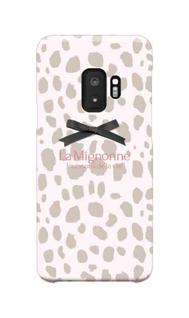 Galaxy S9のケース、La Mignonneダルメシアン【スマホケース】