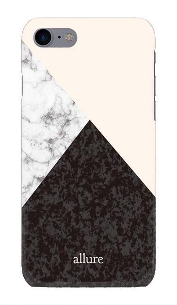 iPhone7のハードケース、marbleパレット【スマホケース】