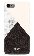 iPhone7対応のツヤ有りケース、marbleパレット