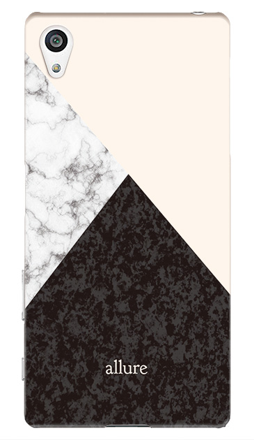 Xperia Z5のケース、marbleパレット【スマホケース】