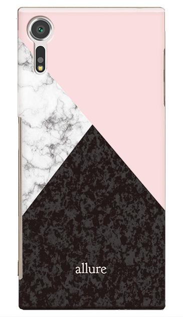 XperiaTM XZsのケース、marbleパレット