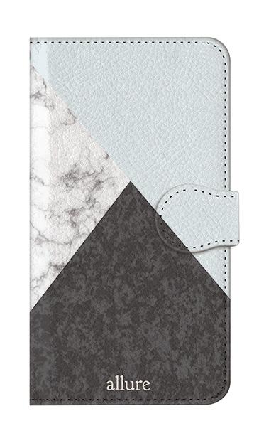Galaxy S8のケース、marbleパレット【スマホケース】
