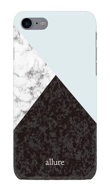iPhone8のハードケース、marbleパレット【スマホケース】