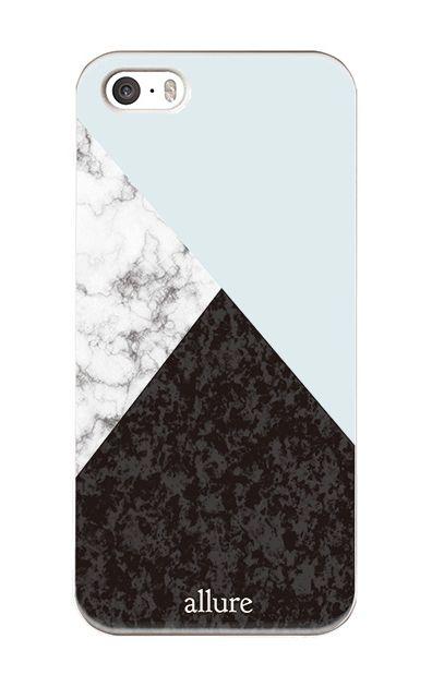 iPhoneSEのハードケース、marbleパレット【スマホケース】