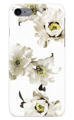 iPhone7対応のツヤ有りケース、白華