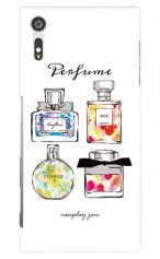 Xperia XZ(SO-01J・SOV34・601SO)対応のツヤ有りケース、Perfumes