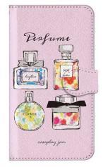 iPhone5c対応の手帳型ケース、Perfumes
