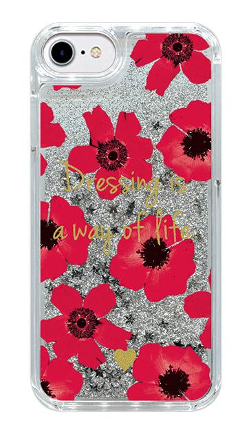 iPhone7のケース、アネモネ・フラワー【スマホケース】