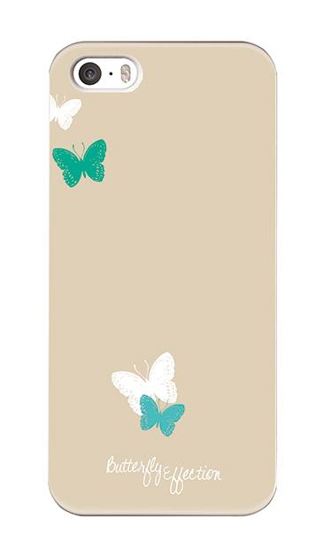 iPhoneSEのハードケース、「Butterfly Effection」【スマホケース】