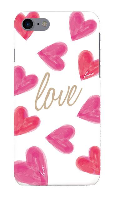 iPhone7のハードケース、「Love」【スマホケース】