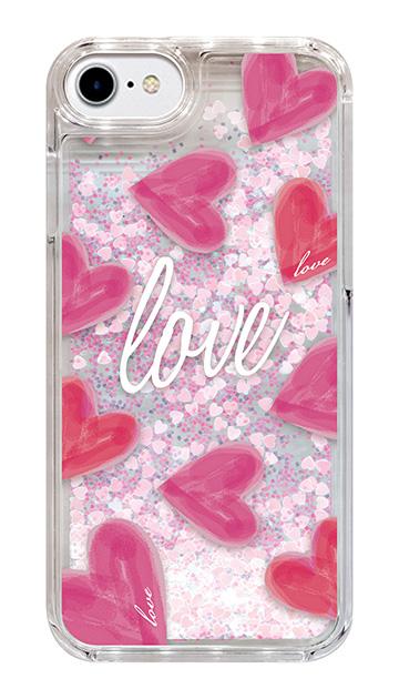 iPhone7のケース、「Love」【スマホケース】