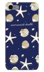 iPhone7対応のツヤ有りケース、Mermaid Shell