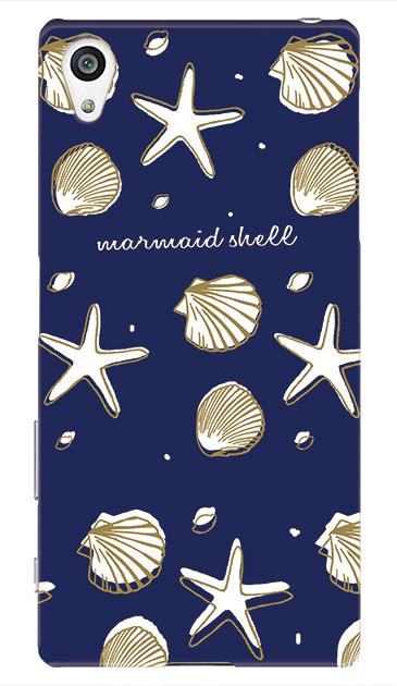 Xperia Z5のケース、Mermaid Shell