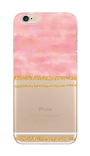 iPhone6sのクリア(透明)ケース、ツイン大理石