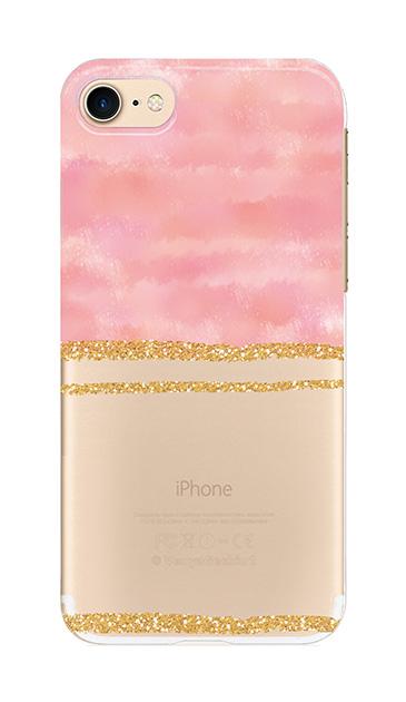 iPhone7のケース、ツイン大理石