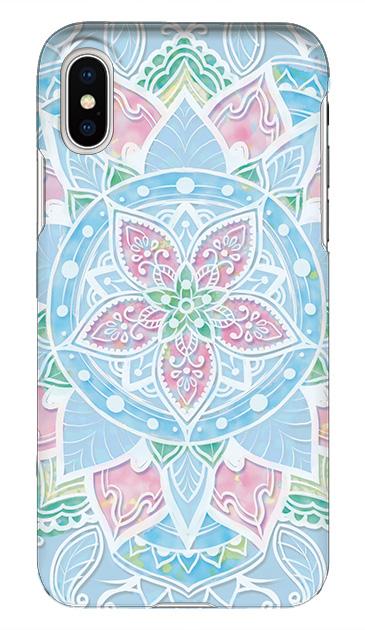 iPhoneXのケース、パステルアラベスク【スマホケース】