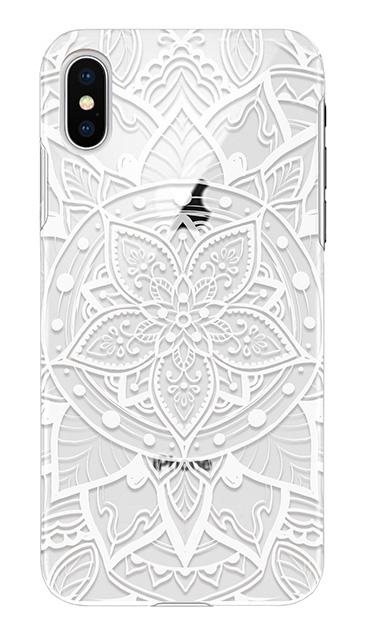 iPhoneXSのケース、パステルアラベスク【スマホケース】
