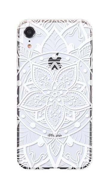 iPhoneXRのケース、パステルアラベスク