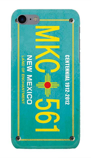 iPhone7のケース、カーナンバー・ニューメキシコ