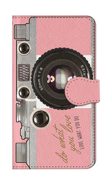 iPhone8の手帳型ケース、アナログカメラ【スマホケース】