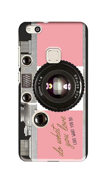 HUAWEI P10 liteのケース、アナログカメラ【スマホケース】