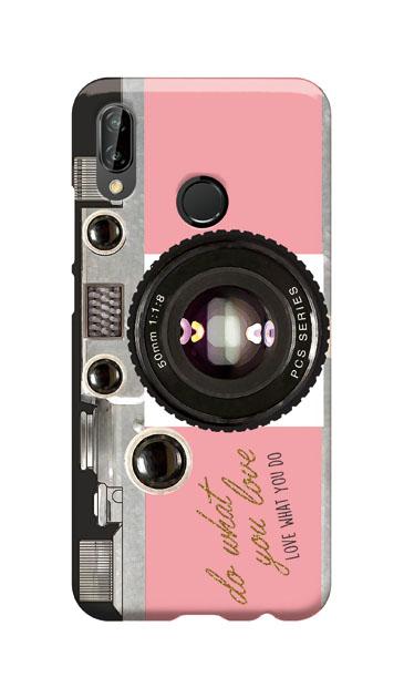 HUAWEI P20 liteのハードケース、アナログカメラ【スマホケース】