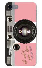 iPhone7対応のハードケース・ツヤ有り、アナログカメラ【スマホケース】