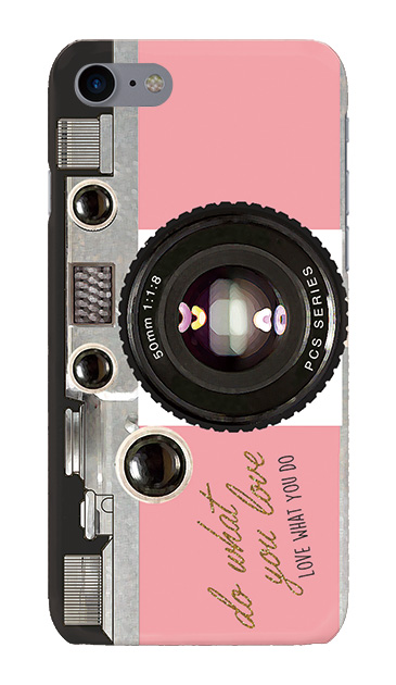 iPhone8のハードケース、アナログカメラ【スマホケース】