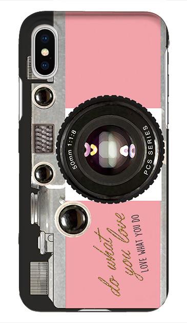 iPhoneXのケース、アナログカメラ【スマホケース】