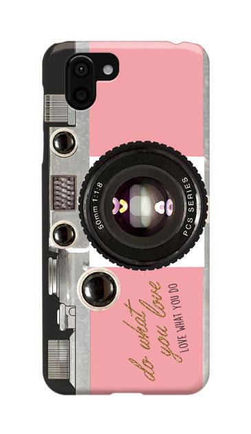 AQUOS R2のケース、アナログカメラ【スマホケース】
