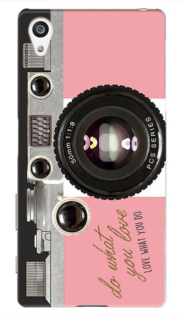 Xperia Z5のケース、アナログカメラ【スマホケース】