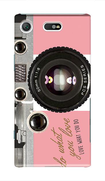 Xperia XZ1 Compactのケース、アナログカメラ【スマホケース】