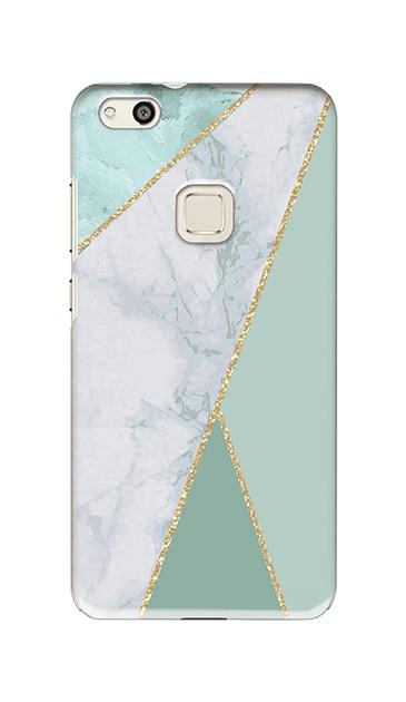 HUAWEI P10 liteのケース、マーブルトライアングルパレット【スマホケース】