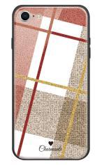 iPhone7対応のハードケース・ツヤ有り、ビッグツイードチェック【スマホケース】