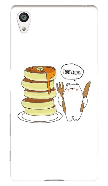 Xperia Z5のケース、しろくまパンケーキ【スマホケース】