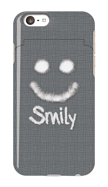 iPhone6sのミラー付きケース、ファースマイリー【スマホケース】