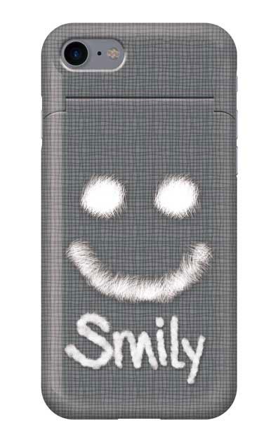 iPhone7のミラー付きケース、ファースマイリー【スマホケース】