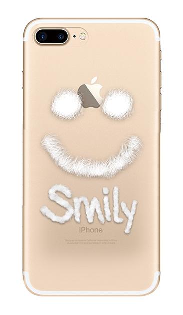 iPhone7 Plusのクリア(透明)ケース、ファースマイリー【スマホケース】