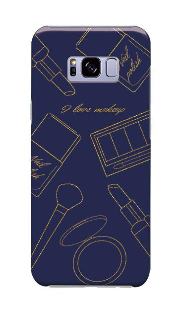 Galaxy S8+のケース、シックコスメパーティー【スマホケース】
